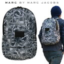 MARC BY MARC JACOBS マーク バイ マークジェイコブス バックパック GRAFFITI MESH PACKABLES BACKPACK リュック バッグ メンズ レディース 【あす楽対応】【RCP】