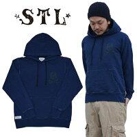 ��STL/�����ƥ��������IndigoSkullPulloverFleeceHoodie�ץ륪���С��ѡ������ե���ڤ������б��ۡ�10P10Jan15�ۡ�RCP��