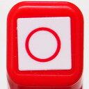 スケジュール浸透印スタンプ はんこ 0556-564 ○ 丸 円 まる レッド 赤 こどものかお KODOMO NO KAO (メール便可 )