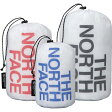 ノースフェイス NM91211ホワイトスタッフバッグセット【ユニセックス】男女兼用スタッフサック/巾着/収納袋/半透明/薄手軽量/容量4.5+3+2リットルのセット/登山・旅行での荷物の小分けにTHE NORTH FACEWHITE STUFF BAG SET