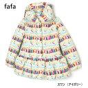 (送料無料)【fafa】 | KAMILA アウター(スワン・アイボリー)(2127-0002)中綿コート [fafa][フェフェ]