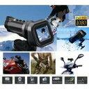 【送料無料】最大1080FHD高画質 自転車バイク用等あらゆるシーン対応 1.5インチ液晶搭載アクションカメラ スポーツカメラ◇DVM-CR-SC190