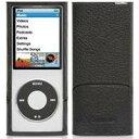 【メール便200円可】Griffin iPod nano 4G用皮製フリップトップケースELANFORM-N4G-BLK