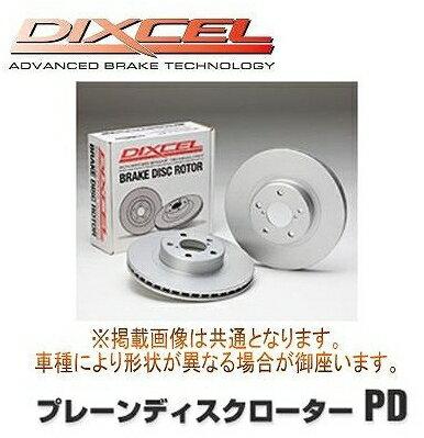 DIXCEL ディクセル  プレーンディスクローターPD 1台分前後セット 三菱 ランエボIV(4) CN9A 96/9~98/2 PD3416005S / PD3456002S 3416005 / 3456002 ブレーキローター