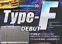 KOYO コーヨー レーシングラジエター タイプF マツダ RX-7 FC3S 後期 ラジエーター KH060643R