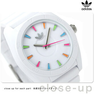 Adidas Santiago quartz watch ADH2915 adidas white / multicolor