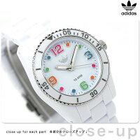 アディダスブリスベンナイロンミニレディース腕時計ADH2941adidasクオーツホワイト