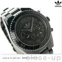 アディダス ブリスベン ナイロン クロノグラフ 腕時計 ADH2983 adidas クオーツ オールブラック