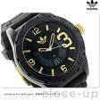 アディダス オリジナルス ニューバーグ メンズ 腕時計 ADH3011 adidas クオーツ オールブラック×ゴールド【あす楽対応】