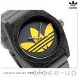 アディダス オリジナルス サンティアゴ メンズ 腕時計 ADH3030 adidas ブラック×グレー