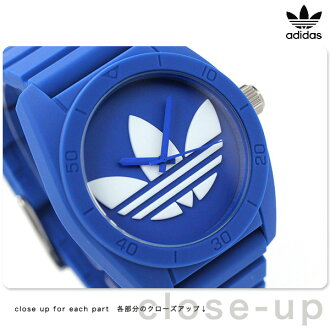 Adidas Santiago ADH6169 adidas watch blue rubber belt