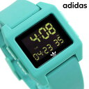 今なら店内ポイント最大49倍! アディダス オリジナルス デジタル メンズ レディース 腕時計 Z153185-00 adidas アーカイブ_SP1 ブラッ..