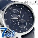 アニエスベー 時計 マルチェロ クロノグラフ 日本製 FBR...