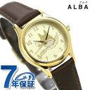 【5月末頃入荷予定分 予約受付中♪】セイコー アルバ となりのトトロ クオーツ 腕時計 ACCK401 SEIKO ALBA ゴールド×ダークブラウン