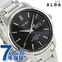 セイコー アルバ ソーラー 日本製 メンズ 腕時計 AEFD...