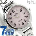 【10月末入荷予定 予約受付中♪】セイコー アンジェーヌ セミラウンド ソーラー レディース AHJD079 SEIKO ALBA ingenu 腕時計 ピンク