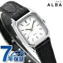 セイコー アルバ クオーツ レディース 腕時計 AQHK419 SEIKO ALBA ホワイト×ブラック 時計【あす楽対応】