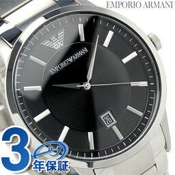 エンポリオ アルマーニ スポルティボ AR2457 メンズ 腕時計 クオーツ EMPORIO ARMANI ブラック