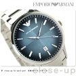エンポリオ アルマーニ クラシック クオーツ メンズ 腕時計 AR2472 EMPORIO ARMANI ブルーグラデーション