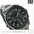 アルマーニ エクスチェンジ クロノグラフ メンズ AX2093 AX ARMANI EXCHANGE 腕時計 クオーツ オールブラック【あす楽対応】
