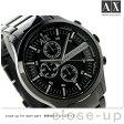アルマーニ エクスチェンジ クロノグラフ メンズ 腕時計 AX2138 AX ARMANI EXCHANGE スマート オールブラック【あす楽対応】