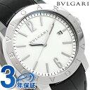 【当店なら1万円割引クーポン有】 ブルガリ BVLGARI ブルガリブルガリ 41mm 自動巻き メンズ BB41WSLD 腕時計 ホワイト【あす楽対応】