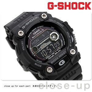 G-SHOCK 電波 ソーラー CASIO GW-7900B-1 腕時計 カシオ Gショック タイドグラフ・ムーンデータ搭載 フルブラック 時計【あす楽対応】