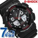 G-SHOCK CASIO GA-100-1A4DR 腕時計 カシオ Gショック Newコンビネーションモデル ブラック × レッド 時計【あす楽対応】