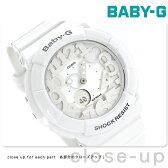 カシオ Baby-G 腕時計 ベビーG ネオンダイアルシリーズ ホワイト BGA-131-7BDR【あす楽対応】