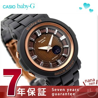 Baby-g neon Dial Watch ladies bronze / black baby G CASIO BGA-301-1ADR