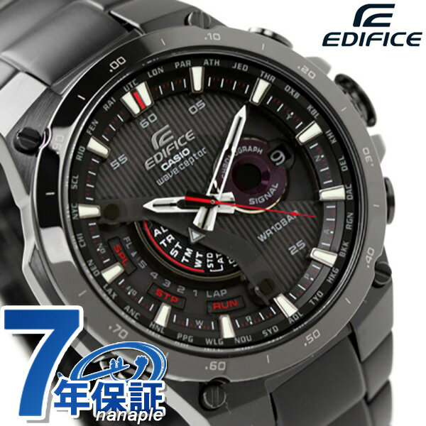 カシオ CASIO EDIFICE エディフィス ソーラー 電波 オールブラック EQW-A1000DC-1AER【対応】 [新品][7年保証][送料無料]