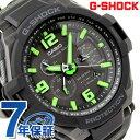G-1400-1A3DR G-SHOCK CASIO 腕時計 ソーラー スカイコクピット 日本未発売モデル ブラック×グリーン【あす楽対応】