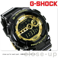 ��������å�G-SHOCKG����å�Black×GoldSeries�����ǥ�֥�å�×�������GD-100GB-1DR