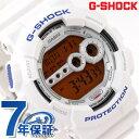 GD-100SC-7DR CASIO G-SHOCK G-ショック クレイジーカラーズ 高輝度LEDバックライト ホワイト×オレンジ