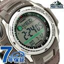 カシオ バイブレーションアラーム 振動機能搭載 ハンティングタイマー 腕時計 モスグリーン ナイロンベルト CASIO PATHFINDER PAS-410B-5VCR【あす楽対応】