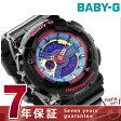 Baby-G クオーツ レディース 腕時計 BA-112-1ADR カシオ ベビーG ブルー×ブラック【あす楽対応】