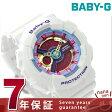 Baby-G クオーツ レディース 腕時計 BA-112-7ADR カシオ ベビーG ピンク×ホワイト【あす楽対応】