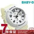 カシオ Baby-G 腕時計 ベビーG ネオンダイアルシリーズ ホワイト BGA-132-7BDR