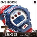 DW-6900AC-2DR Gショック カシオ 腕時計 メンズ ブルー&レッドシリーズ CASIO G-SHOCK