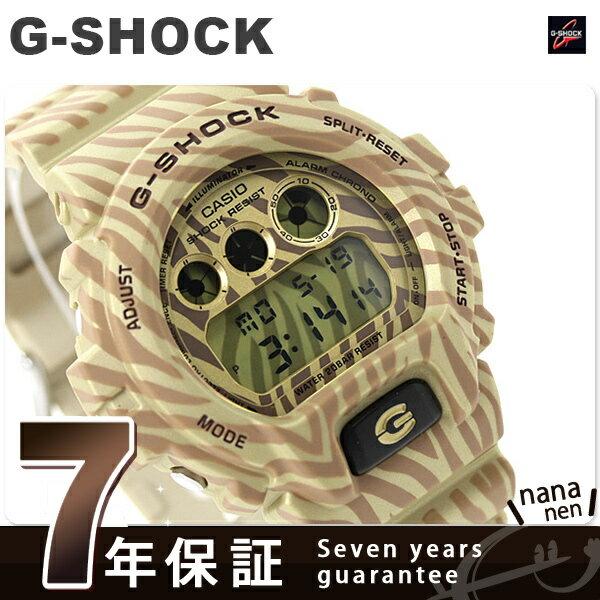DW-6900ZB-9DR G-SHOCK ゼブラ カモフラージュシリーズ 限定モデル カシオ Gショック メンズ 腕時計 クオーツ ゴールド  [新品][7年保証][送料無料]壮大でカラフル