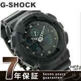GA-100MB-1ADR G-SHOCK ミリタリーブラック・シリーズ メンズ 腕時計 カシオ Gショック クオーツ オールブラック×グリーン【あす楽対応】