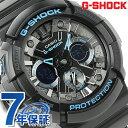 GA-201BA-1ADR G-SHOCK ブラック×ブルー シリーズ メンズ 腕時計 カシオ Gショック クオーツ オールブラック