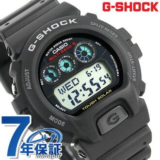 CASIO G-SHOCK G-打擊電波太陽能6900 GW-6900-1CR黑色