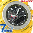 GWN-1000-9ADR G-SHOCK ガルフマスター 電波ソーラー トリプルセンサー カシオ Gショック メンズ 腕時計 ブラック×イエロー