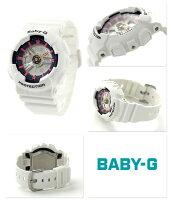 Baby-G�������ĥ�ǥ������ӻ���BA-110SN-7ADR�������٥ӡ�G�ۥ磻��