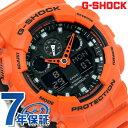 GA-100L-4ADR G-SHOCK スペシャルカラー レイヤードカラー 腕時計 Gショック ブラック×オレンジ【あす楽対応】