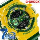 G-SHOCK クレイジーカラーズ メンズ 腕時計 GA-400CS-9ADR Gショック ブラック×グリーン