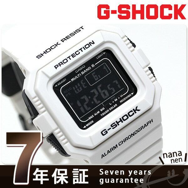 G-SHOCK ホワイト&ブラックシリーズ 電波ソーラー GW-5510BW-7JF CASIO 腕時計 ブラック×ホワイト [新品][7年保証][送料無料]