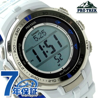 Casio protrek triple sensor mens watch PRW-3000G-7DR CASIO PRO TREK blue