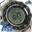 カシオ プロトレック 電波ソーラー メンズ 腕時計 PRW-3500T-7ER CASIO グレー【あす楽対応】